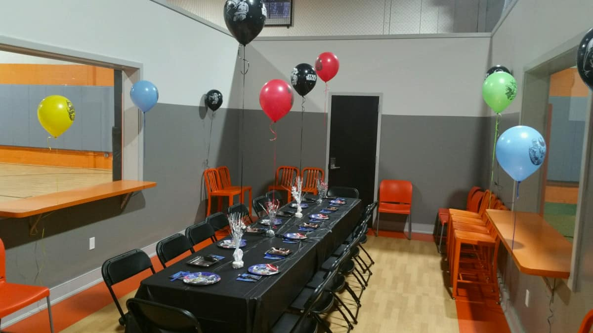 Impact Zone Party Room